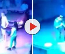 Jovem aparece em vídeo em momentos picantes (Captura de vídeo)