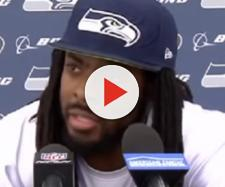Richard Sherman's season was cut short by an injury (Image Credit: NFL/YouTube)