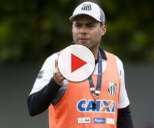 Santos fez treino fechado para a imprensa