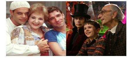 Eles deixaram muitas saudades e grandes trabalhos na TV e no cinema
