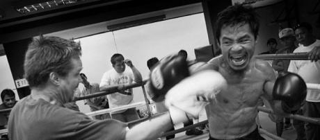 Who will Manny Pacquiao face in his next fight? / Photo via Roger Alcantara, Flickr CC