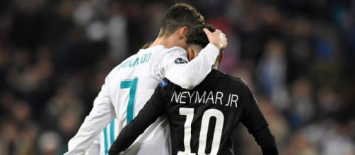 Cristiano Ronaldo y Neymar: la imagen de ambos cracks que emocionó