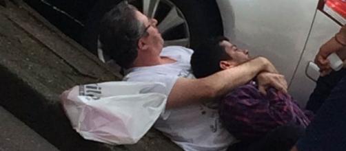 Ladrão acabou levando a pior em tentativa de assalto (Captura de vídeo)