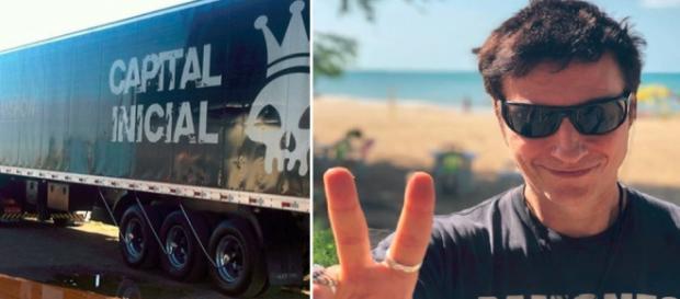 Dinho Ouro Preto relata tentativa de assalto a caminhão da banda no Rio
