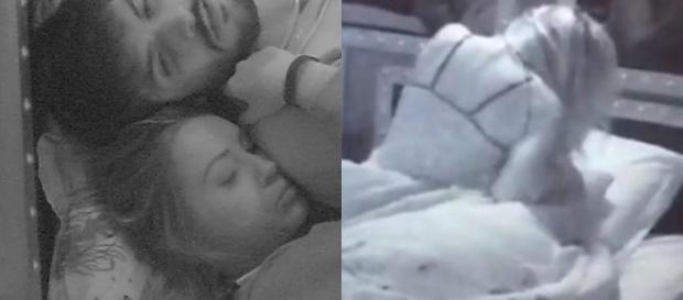 Jéssica e Lucas teriam se tocado intimamente no Big Brother Brasil