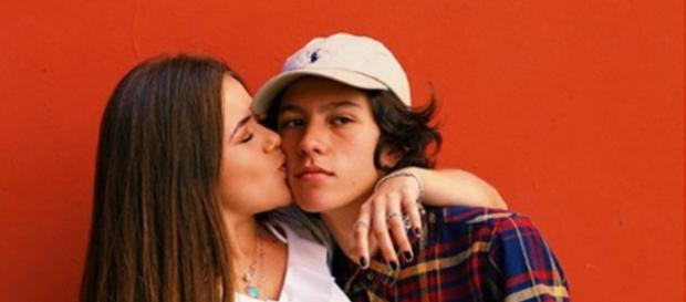 Maísa Silva assume namoro com rapaz no 'Valentine's Day'.