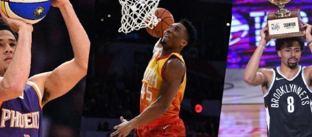 Star Game : Le concours de dunks pour Mitchell, Booker et ... - yahoo.com
