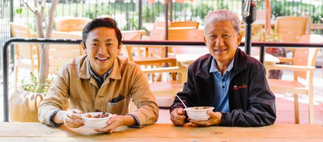 Food with Purpose Interview with Daniel Lee of 'Flame Broiler'