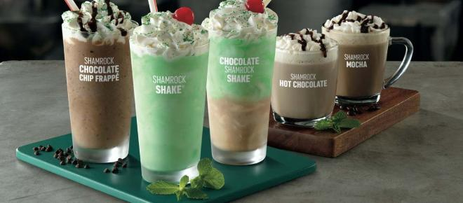 Shamrock shakes are coming back to 'McDonald's'
