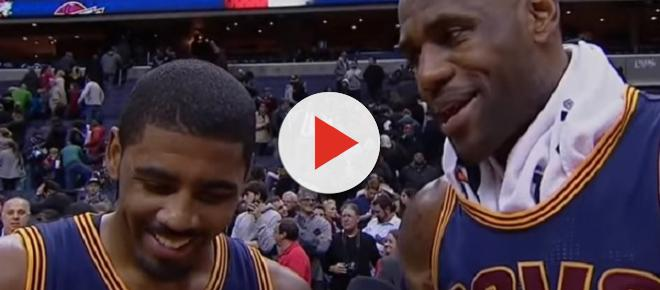 Is Kyrie Irving open to playing with LeBron James again?