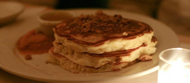 Simple pumpkin pancakes recipe