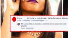 Internauta chama MC Loma de 'macaca' e ela responde de maneira épica; veja