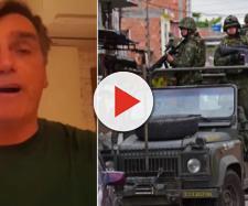 Bolsonaro faz vídeo indignado e diz que não apoia intervenção militar no Rio