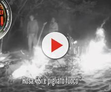 Incendio Isola dei famosi 2018