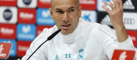 Zinedine Zidane asistió a los medios esta tarde