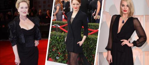 Actrices que reivindican vestidas de negro - okchicas.com