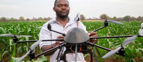 Agricultura en Africa ayudada por medio de drones