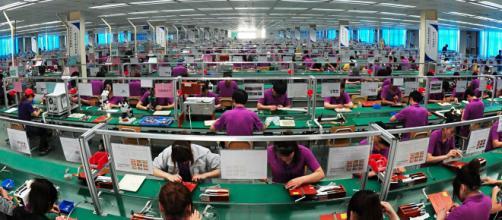 Jornada laboral en empresa de tecnología china. - ohmygeek.net