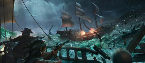 Kraken aparece en Sea of Thieve's y azota a los piratas
