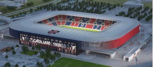 La futura casa del Cagliari Calcio
