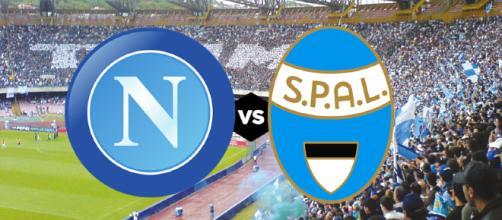 Live Napoli-Spal: dove vedere la partita in tv e streaming