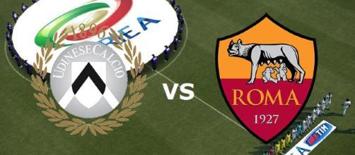 LIVE Udinese-Roma: info streaming - diretta TV - formazioni