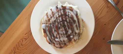 Cinnamon pancake. [Image Credit: Tia Rae]