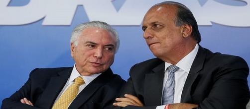 Temer se reúne com Pezão e outras autoridades para tratar da intervenção militar no Rio.