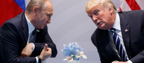 Vladimir Putin, presidente de la Federación Rusa y Donald John Trump presidente de los Estados Unidos