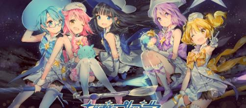 Wish Upon The Pleiades the anime