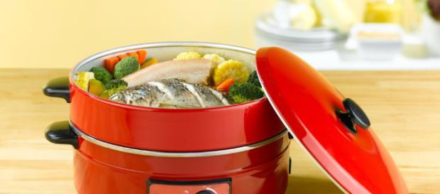 Cocinar al vapor es ideal para una dieta sana.- mejorconsalud.com