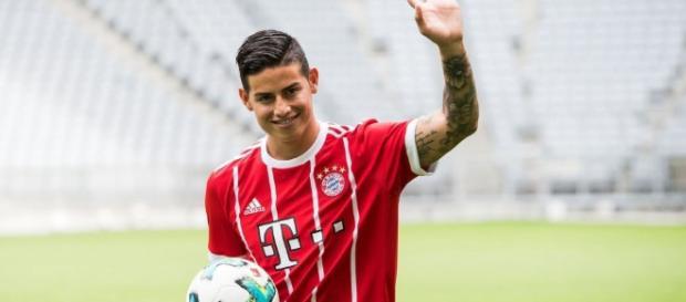 James Rodriguez esta determinado a forzar la transferencia al Liverpool o al Arsenal