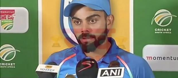Virat Kohli was the star of the win. Photo - Image credit Sach Tv -Youtube.com