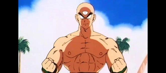 Tenshinhan de Dragon Ball ha dejado herido a un luchador