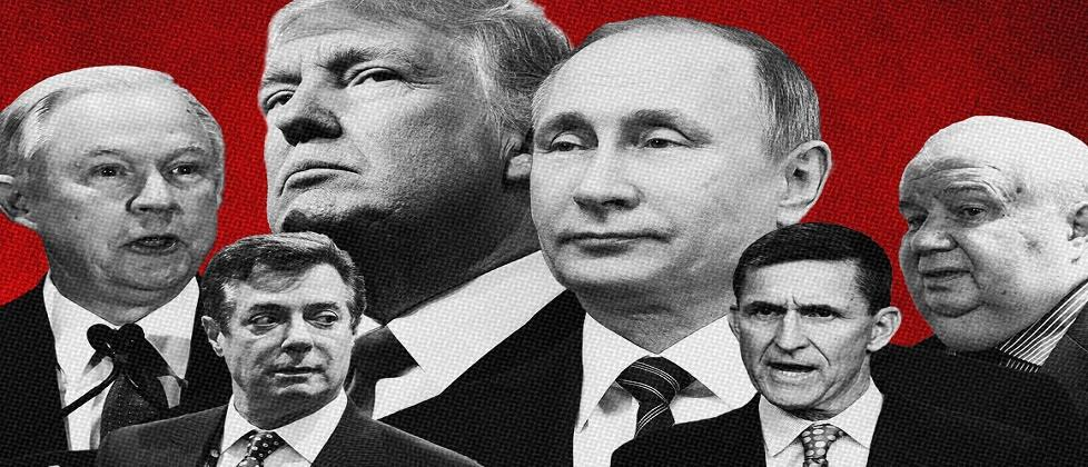 The US indict 13 Russians, accusing them of interfering with US politics