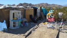 3 children found living in a plywood box in Joshua Tree