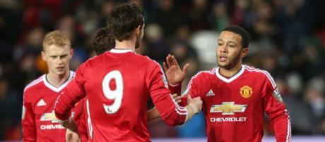 Memphis Depay, calciatore attualmente al Lione ma di proprietà del Manchester United