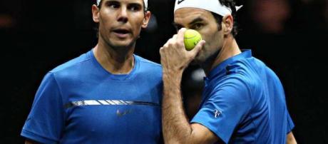 Rafael Nadal y Roger Federer por primera vez juntos en dobles ... - eldiariony.com