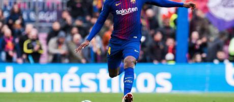 Yerry Mina dificilmente tendría minutos en el Barcelona
