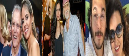 Casais de famosos com uma grande diferença de idade