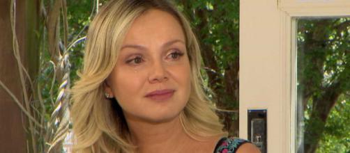 Eliana apresentadora do SBT chora ao relembrar dificuldade em gestação