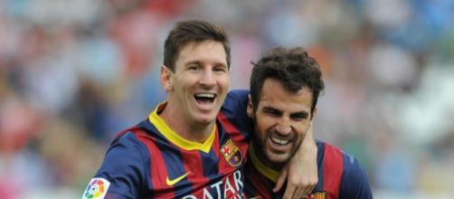 Fabregas es amigo personal de Lio, pero eso debe olvidarlo para el partido de Champions