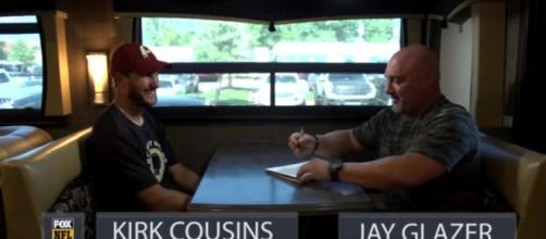 Jay Glazer 1-on1 with Redskins QB Kirk Cousins before 2017-18 NFL Season | FOX NFL- FOX Sports YouTube