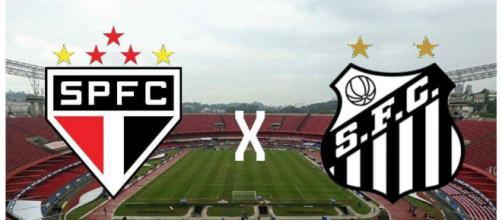 São Paulo x Santos ao vivo neste domingo