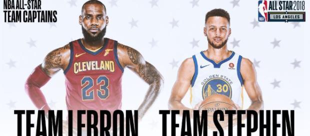 All-Star Game 2018 : LeBron James avec Kyrie Irving, Kevin Durant ... - newsbasket-beafrika.com