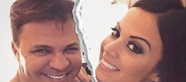 Eduardo Costa está sendo acusado pela ex-namorada por vazar nudes