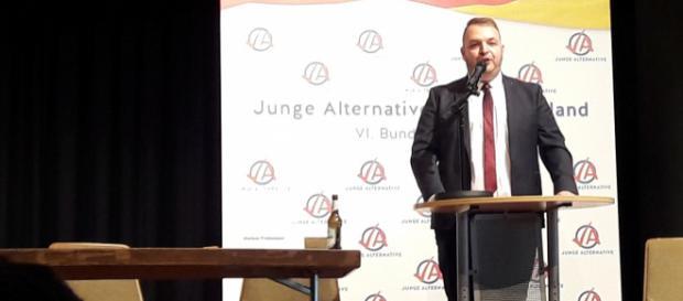 Damian Lohr aus Mainz ist der neue Bundesvorsitzende der Jungen Alternative.
