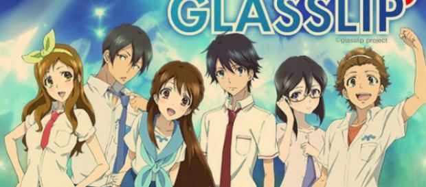 disfruta un poco de Glasslip the anime
