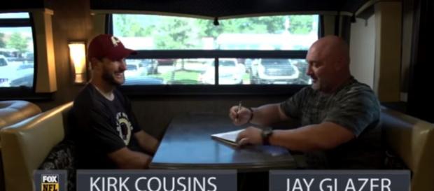 Jay Glazer 1-on1 with Redskins QB Kirk Cousins before 2017-18 NFL Season   FOX NFL- FOX Sports YouTube