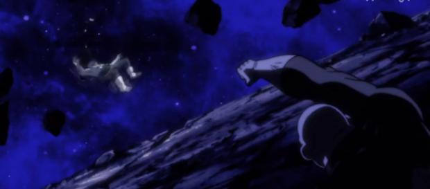 Jiren elimina a Vegeta del torneo del poder